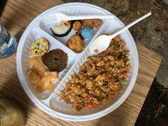 Korean Rice Fried- Kimchi- Kimbap- Eggs rolls- Potatoes Pancakes- Tuna Pancakes- Korean Fish Cake- Sweet Potatoes- Mochi-