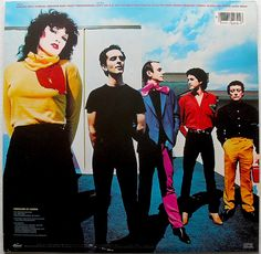 THE MOTELS 1980 at the Paradise Club ~ Boston, partied with them, they were awesome - great nite!