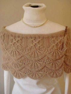 Brandywine Falls Wrap By Robin Ulrich - Purchased Knitted Pattern - (ravelry) Knit Or Crochet, Lace Knitting, Crochet Shawl, Knitting Stitches, Knitting Designs, Knitting Projects, Knitted Poncho, Knitted Shawls, Crochet Scarves