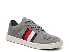 Men Tommy Hilfiger Archer 2 Sneaker -Grey/Red/Navy