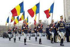regimentul 30 garda mihai viteazul bucuresti 30th Honor Guard Regiment Bucharest Romania romanians flag parade