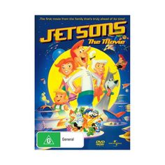 William Hanna and Joseph Barbera direct and produce this feature-length animated adventure following the Jetson family. When George Jetson (voice of George O'Hanlon) receives a promotion, he excitedly moves to outer space with the rest of the Jetson clan: Jane (Penny Singleton), Judy (Tiffany), Elroy (Patric Zimmerman), Rosie the Robot (Jean Vander Pyl) and their trusty canine Astro (Don Messick). George is alarmed when he discovers his new employers are wreaking ecological destruction and d Penny Singleton, Joseph Barbera, William Hanna, Movie Tickets, Saint George, Zimmerman, Outer Space, Destruction, The Help