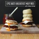 Epic Rosti Breakfast Muffins with Cheeky Chutney!