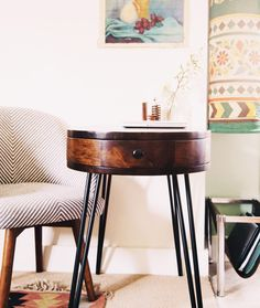 Tiny Home w/ Multifunctional Office/Dining Space   @Justina Siedschlag Blakeney + @Elise West elm