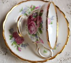 Artful Affirmations: Tea Cup Tuesday-Lovely Rosina and Giveaway