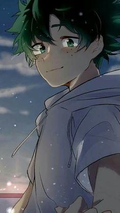 Izuku Midoriya // Boku no hero Academia My Hero Academia Episodes, My Hero Academia Memes, Hero Academia Characters, My Hero Academia Manga, Hero Wallpaper, Cute Anime Wallpaper, Tsuyu Asui, Cute Anime Guys, Anime Love