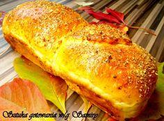 Jesienny puszysty chleb z ziołami ...