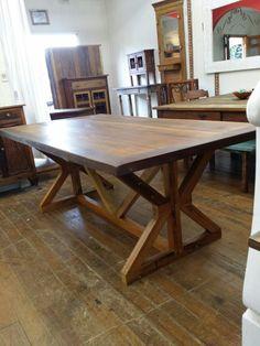 Mesa de jantar  em madeira demolição