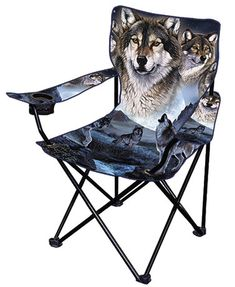 Wolf Artists Chairs or Throws