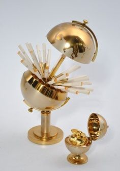 Rens Alta - Mad Men globe cigarette holder and lighter