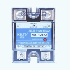 Single-phase solid state relay 100A AC to AC solid state relay contactor VAC 220V 380V
