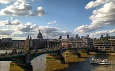 London bridge is the next one down www.couchflyer.com #londonbridge #london #britain #unitedkingdom #bridge #thames #river #afternoonglow #cruise #tourist #travel