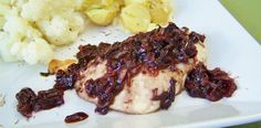 berry balsamic chicken...can even use the sauce over pork (chops or tenderloin)