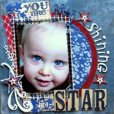 #Scrapbook page ⊱✿-✿⊰ Join 700 people and follow the Scrapbook Pages board for Scrapping inspiration ⊱✿-✿⊰