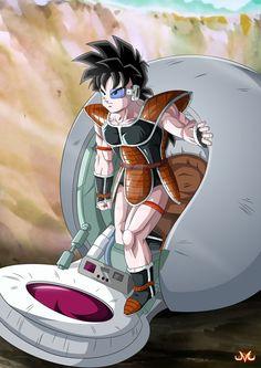 Commission : Goku and Gohan Saiyans by Maniaxoi on DeviantArt Dbz Characters, Black Anime Characters, Dragon Ball Z, Goku Transformations, Goku And Gohan, Japanese Artists, Illustrations, Character Design, Deviantart