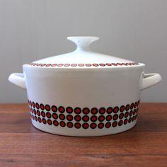 1960s Winterling Bavaria porcelain casserole or lidded by Kultur, $28.00