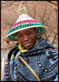 Lesotho African Tribes, African Men, African Nations, Cub Scouts Bear, Columbus Travel, Game Reserve, African Culture, African Fashion, South Africa
