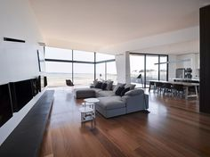 Living room - beached-house