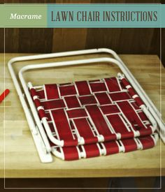 Check out Macrame Lawn Chair Instructions at https://homesteading.com/macrame-lawn-chair-instructions/