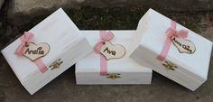 Rustic Bridesmaid Gift Box's, Flower Girl Gift Box, personalized!!