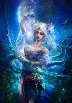 """Daena is Goddess of Faith. Daena is considered to be the daughter of Ahura Mazda and Armaiti. Daena is The Goddess who personifies The Faith in Persian mythology. Her name means """"That which was revealed"""". She is one of the Yazatas."""