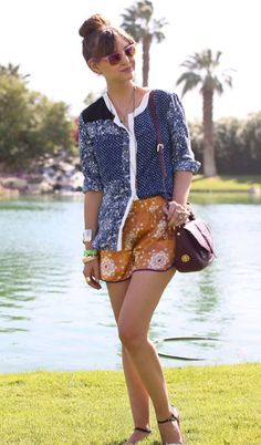 Style at Coachella | Head to Toe Prints