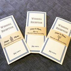 新しいデザインの席次表が出来上がりました(^ ^) このタイプの席札 招待状も作成中です♡ #結婚式 #席次表  #席札 #ハンドメイド #手作り結婚式  #ペーパーアイテム