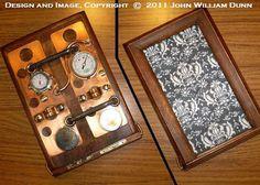 "The iCog Gaia (tm )""Boilerplate"" Edition Mk.2: Wooden Steampunk Case for the Apple iPad (R) Mini. #steampunk  (DISCONTINUED)"
