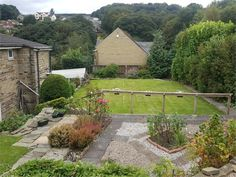 Back garden - Netheroyd Hill Road, Huddersfield, West Yorkshire