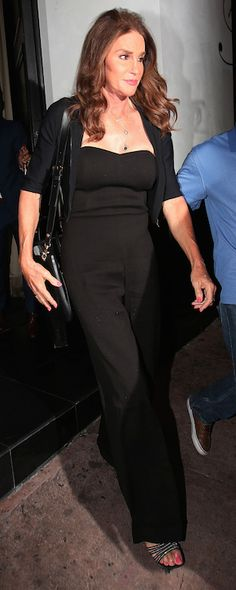 Caitlyn Jenner steps out after meeting with Kris Jenner for the first time since her transition.
