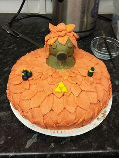 Duku zelda birthday cake
