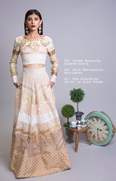 Udaipur Tea Party SS16 Collection by Mani Jassal