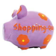 Sparschwein Shopping Queen - KCG #piggy #piggybanks #coin  #banks #money #boxes