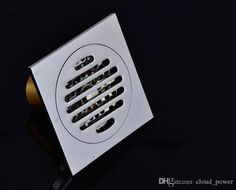 2017 Drainer Square Shower Floor Drain With Removable Strainer . Basement House, Basement Flooring, Shower Drain, Shower Floor, Floor Drains, Brass Bathroom, Chrome, Clouds, Shallow