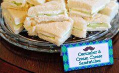Cucumber Cream Cheese Sandwiches