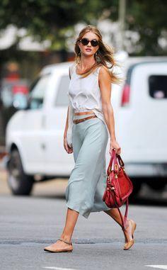 el look de street style de rosie huntington whit