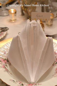 """Pure Elegance"" Napkin Fold"