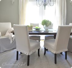 dining chairs from ballard designs {couture chairs}.