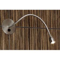 Applique Liseuse Loke LED Noir Interrupteur