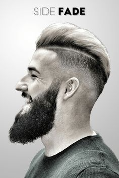 Side fade hairstyle for Men