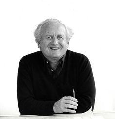 Profile of Fritz Haller, the designer of the USM Haller System
