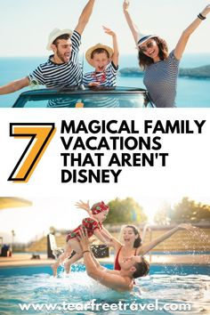If Disney World is a little bit out of your price range, or if you are just looking to do something a little different, there are a ton of places to take your family without going to Disney. Sure you won't be able to meet Mickey Mouse, but the experiences are just as magical!
