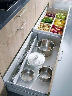 gabinetes para cocina sencilla