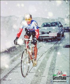 Andy Hampsten, the hero in the snowstorm on the Gavia in 1988.