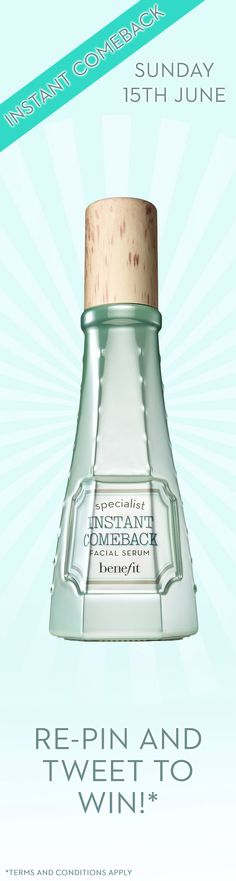 A super serum for a Summer that Simply Works, yes! Re-pin to win! #itsimplyworks