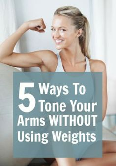 Workout Routines for all Body Parts : Daily New Fashion: Here's How to Tone Your Arms Without Weights - All Fitness Fitness Workouts, Fitness Motivation, Fitness Diet, Health Fitness, Mini Workouts, Arm Workouts, Health Club, Workout Routines, Fitness Weights