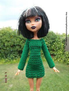 Ropa para muñecos - Ropa Monster High: v89 - hecho a mano por mamimonster en DaWanda