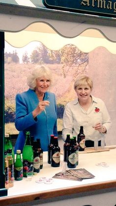 HRH The Duchess of Cornwall on a visit to Northern Ireland 24 May 2016