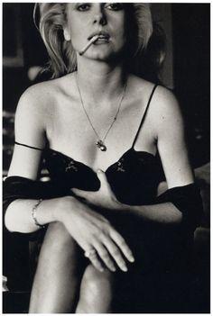 Helmut Newton - Catherine Deneuve, Paris 1976