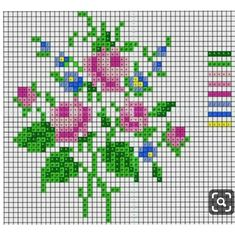 This Pin was discovered by Zeh Small Cross Stitch, Cross Stitch Cards, Cross Stitch Rose, Beaded Cross Stitch, Cross Stitch Borders, Cross Stitch Flowers, Cross Stitching, Cross Stitch Embroidery, Cross Stitch Patterns